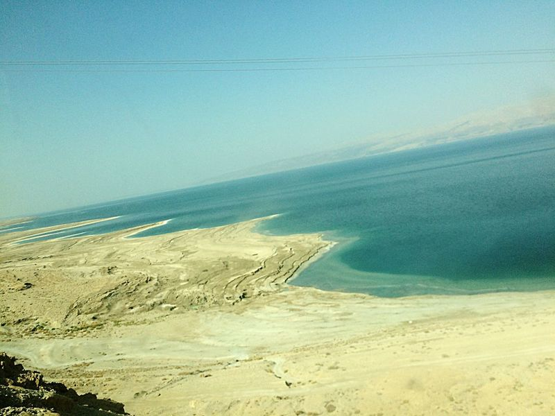 Nature Beauty In Nature Beach Sea No People Day Water Horizon Over Water Dead Sea  The Week On EyeEm Lost In The Landscape Perspectives On Nature Summer Exploratorium