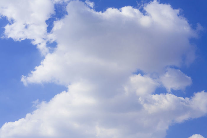 WHITE CLOUNDS ON THE BLUE SKY BACKGROUND Air Backgrounds Beautiful Blue Clear Sky Cloud - Sky Cloudy Colorful Colors Fuffy High Light Nature Sky Sunlight White
