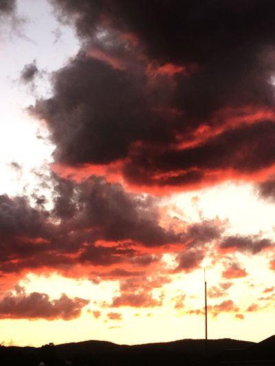 Cloud - Sky Scenics Nature Tranquil Scene Outdoors Sunset