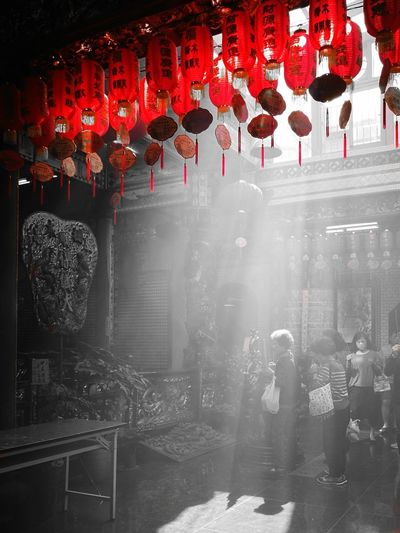 Temple Of Taiwan Incense Light Light And Shadow Taipei,Taiwan Natural Light Taiwan Huawei P9plus