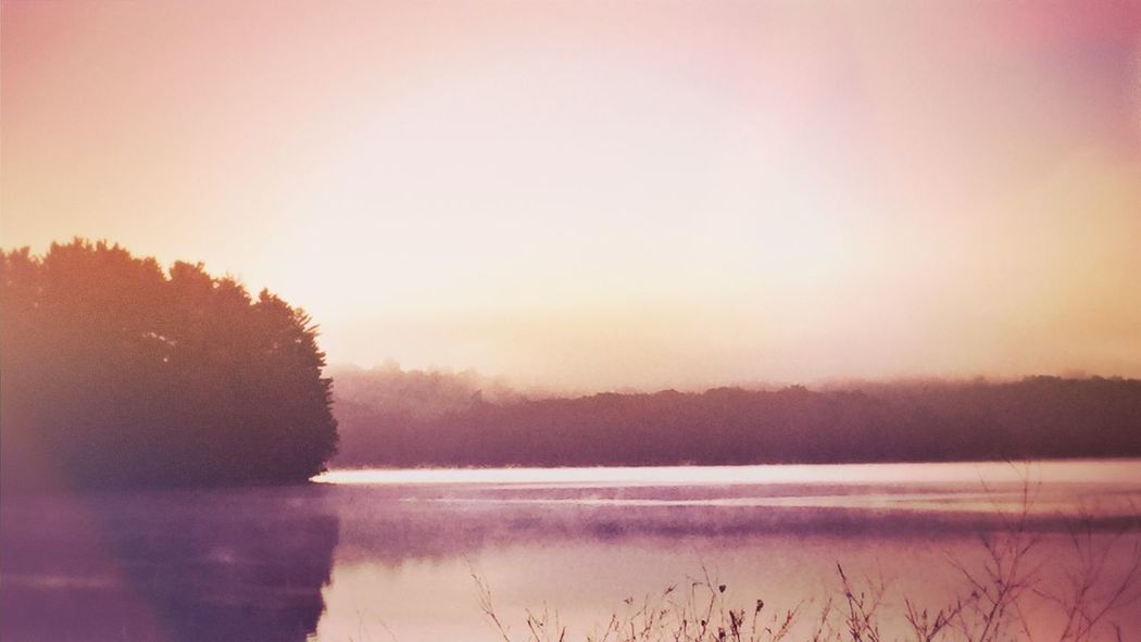 Nature Scenics Water Tranquil Scene Tranquility Beauty In Nature Outdoors Lake Idyllic Landscape Dawn Beauty In Nature Mood Rural Landscape Melancholic Landscapes