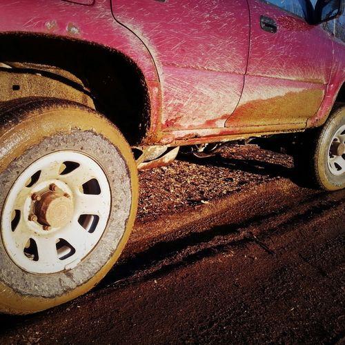 First mud of the season! Mud Trailriding Spring Mudonthetires Enjoying Life Sunshine Sunset Maine