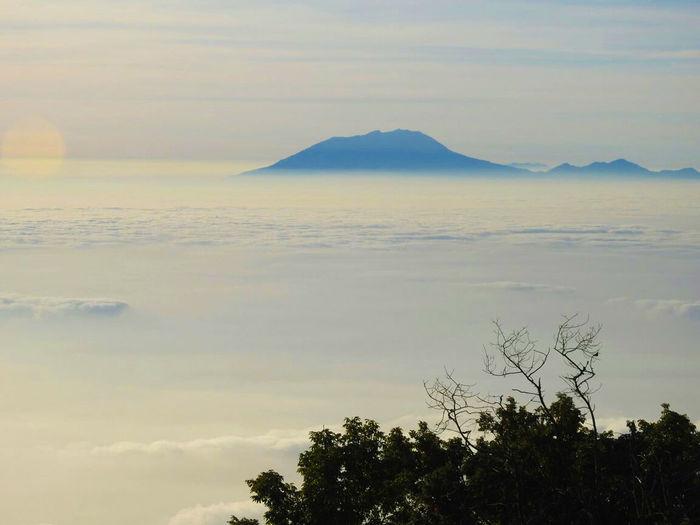 mountain sky Mountain Sky Beauty In Nature Cloud - Sky Good View Mountain Nature No People Outdoors Sky Sunset Tree