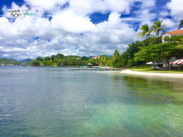 Tranquil Scene Waterfront Scenics Nature Beauty In Nature Beach Grenada Paradise