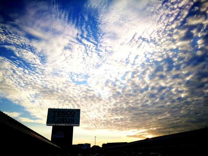 Sky in Minburi Cloud - Sky Beauty In Nature Sunset Sky Lotus Day Outdoors Nature First Eyeem Photo