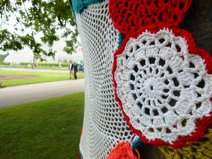 Kew Gardens Tree Yarn Bombing Yarnbombing Crochet