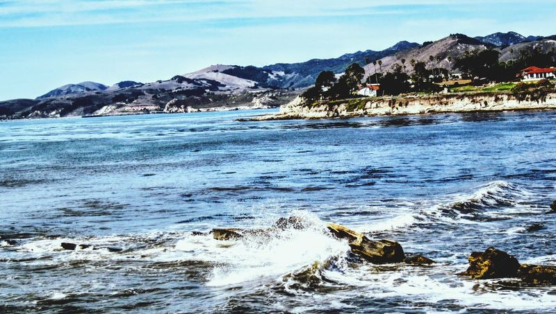Pacific Ocean, central California coast Pacific Ocean Central California Coast Ocean Ocean View Pacific Ocean View Pacific California Coast California Shell Beach Shell Beach,CA Mountain Outdoors Sea Landscape Beach Nature Beauty In Nature Water Scenics No People Day Sky