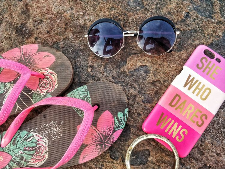 Touch Of Gold Still Life Gold Huế Golden Accesories Pink Flip Flop Rocky Sunglasses Mood Board Accessories Tropical Summer Bright Summer Feels The Still Life Photographer - 2018 EyeEm Awards The Fashion Photographer - 2018 EyeEm Awards