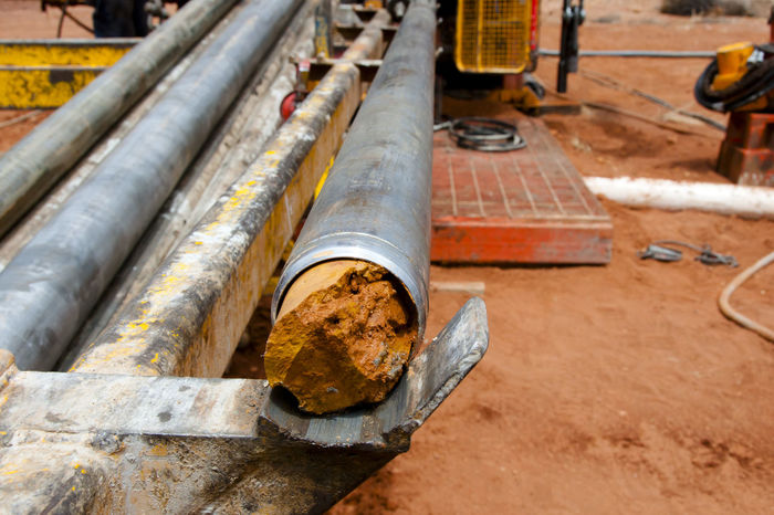 Drilled Core in Tube Australia DRILLED Core Exploration Industry Metal Mining Pipe - Tube