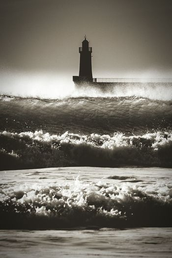 First Eyeem Photo sea Waves Phare Les Sables D'Olonne