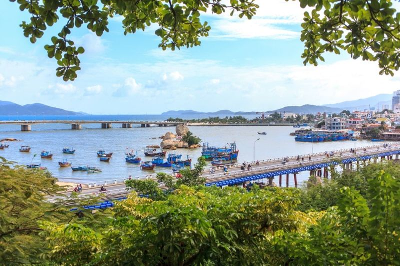 The Places I've Been Today Tháp Bà Ponagar Vacantion фотографвьетнам NhaTrang Sea Vietnam Excursion Seaview Brige