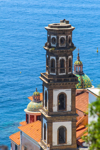 Collegiata di santa maria maddalena penitente against sea