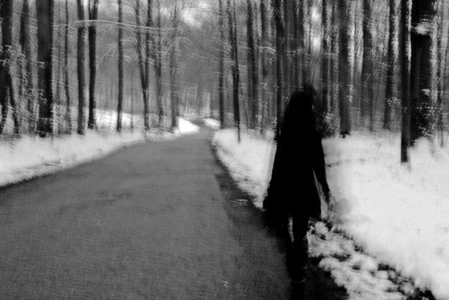 Walking around. Blackandwhite Monochrome Check This Out People_bw EyeEm Best Shots - No Edit Walking Around Germany In The Forest Silhouette