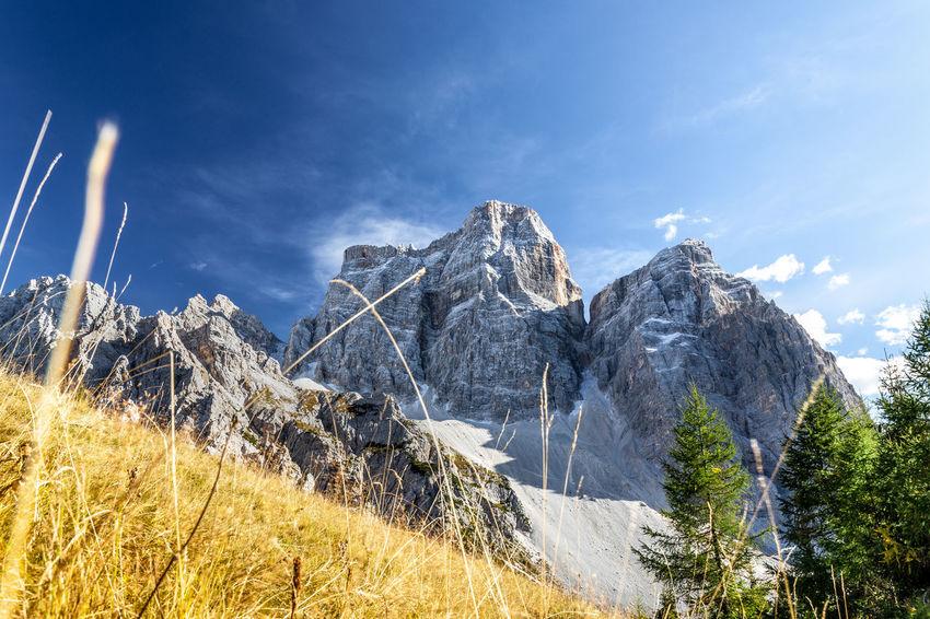 Monte Pelmo, in the italian Dolomites, in fall edition #autumn #dolomites #FollowMe #italy #landscape_photography #Mountain #Nature  #Panorama #sky #wildlife Autumn Mood