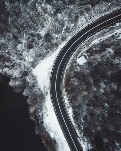 road nearby the lake sils Transportation No People Sky Nature Mode Of Transportation Tree Cloud - Sky Plant Beauty In Nature Cold Temperature Winter Car Day Outdoors Land Vehicle Motor Vehicle Snow Scenics - Nature High Angle View DJI Mavic Pro Dronephotography Droneshot Swiss Alps Swiss Switzerland