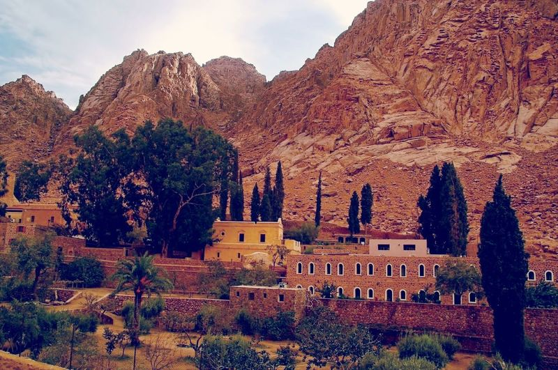 Saint Catherine Monastery Historical Place Walking Around Taking Photos Check This Out