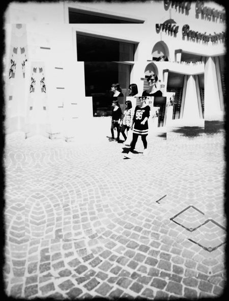 Mainstreet EYEEM A Dreamer... IPhoneArtism Mob Fiction AMPt_community Moving Shadows Black & White NEM Black&white Streetphotography AMPt - Street Street Photography