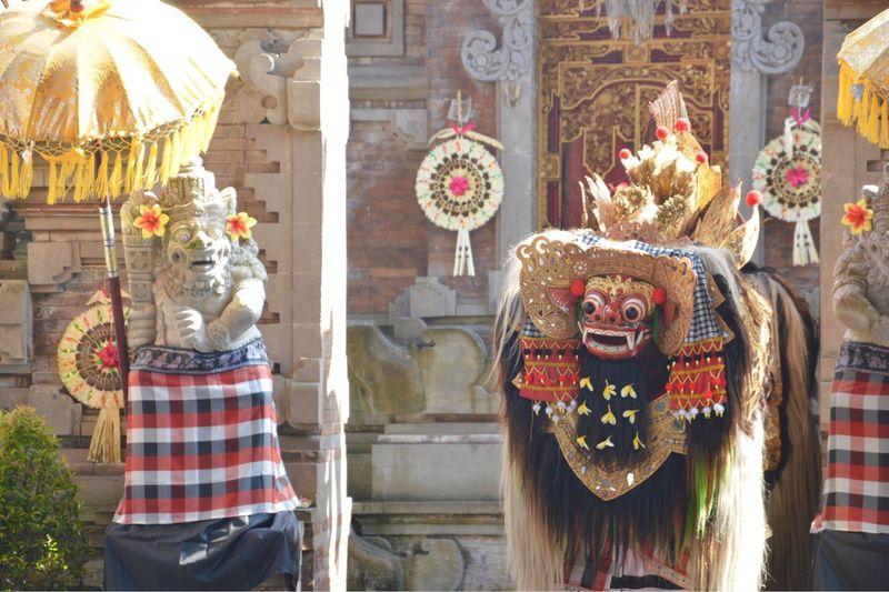 Barong Bali Travel Destinations Traditional Culture Bali Art Calture Art And Craft Architecture Celebration Creativity