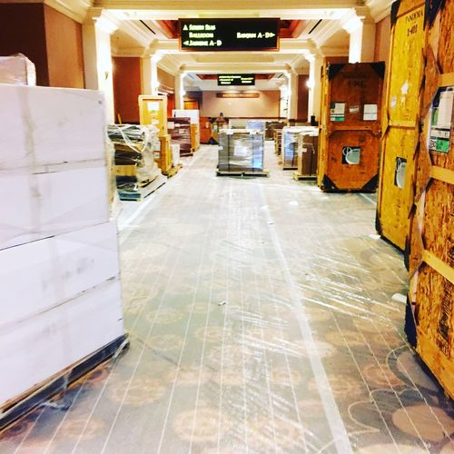 Production Work Hotel Las Vegas Mandalay Bay Load In Indoors  No People Architecture Built Structure Day