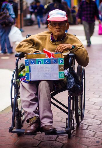 Chair Colors Poor  Focus On Foreground Goodpeople Homeless Old Oldman One Man Only One Person People Poorpeople Real People Sitting Stillfighting Thankyou Wheelchair