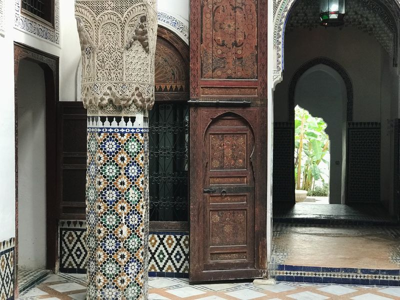 Arch Built Structure Door Architecture Entrance Palace Morocco Meknès Shadow Silhouette