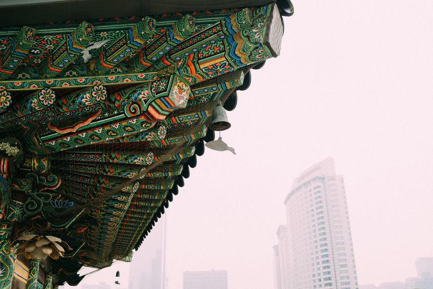 Bongeunsa Buddha Temple Seoul, Korea