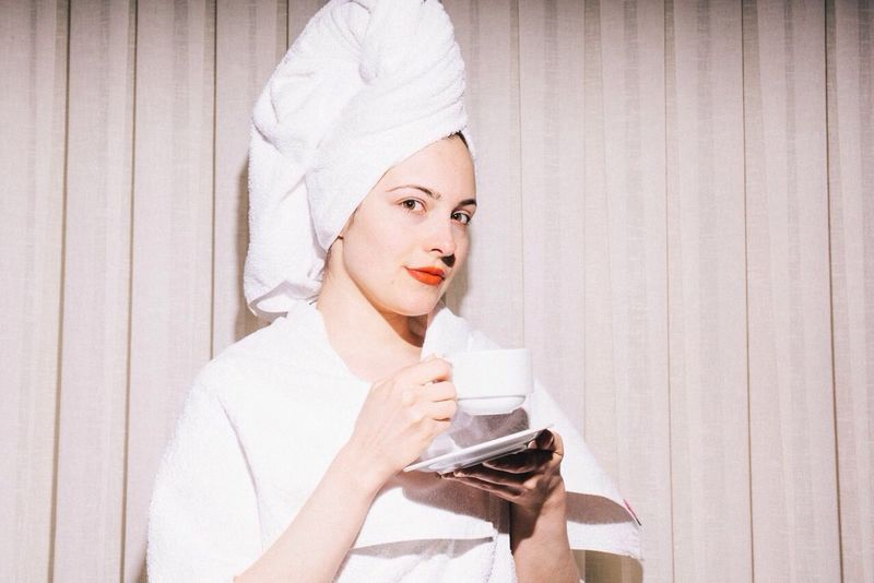 No Makeup Tea White Fresh And Clean