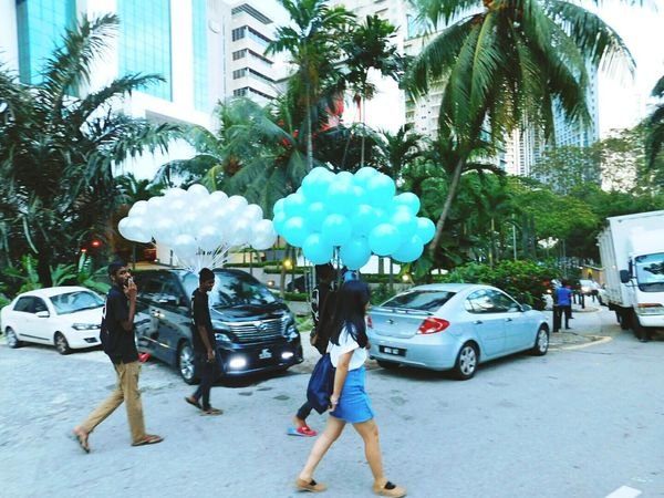 Street City Outdoors Sky Cloud - Sky People City Life Malaysia Girl Travel