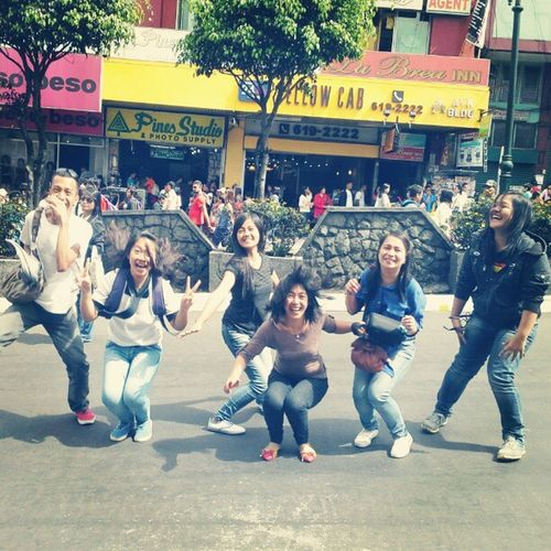 Jump shot? FAIL! Haha Friends Panagbenga Baguio Instagram barkada
