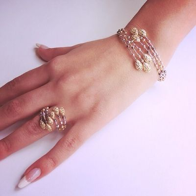 Coated with luxury... #luxury #gold #ring #bracelet #antoinesaliba #jewelry #byblos #beirut #lebanon antoinesaliba.com #biggest #online #jewelry #store