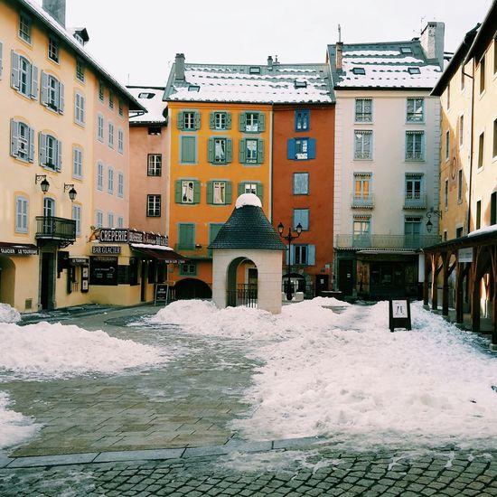 Briançon Snow ❄ Beautiful Coulours  Serre Chevalier  Cold Winter ❄⛄ Winter Place