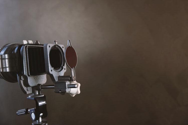 Close-up of equipment