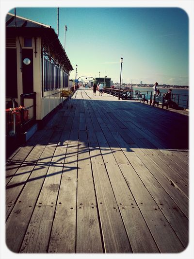 Earl Grey Filter oh southend pier :) love what the earl grey filter does to this shot. Southend On Sea Pier Georgichan
