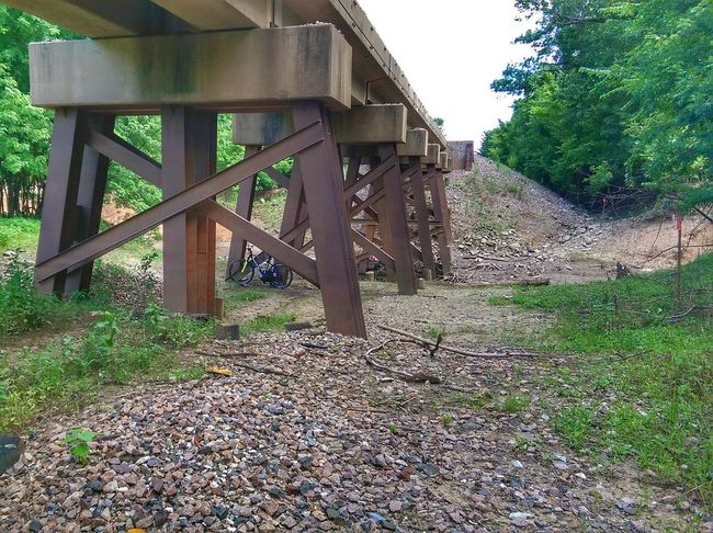 Mother Vs Nature Underneath The Bridge Biketrip Eye Am Nature Wrong Side Of The Tracks Ironworks Random Acts Of Photography
