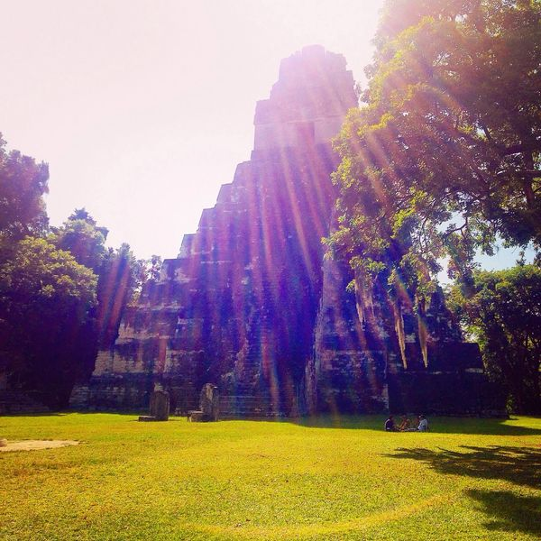 Visited the Mayan ruins of Tikal in the Morning Traveling Guatemala