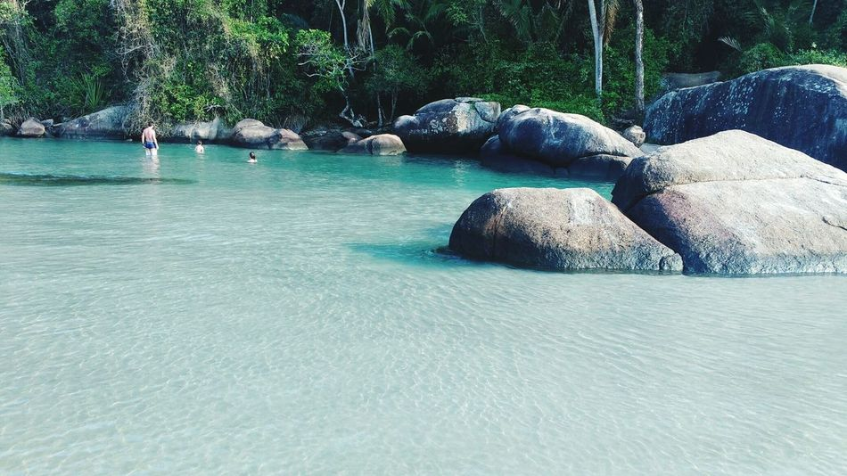 Water Nature Day Sea Vacations Brasil ♥ Beach Travel Destinations Ubatuba Beach  Itamambuca Nature
