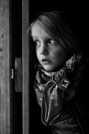 Behind the door Portraiture Kids Of EyeEm Afraid Child Portrait Children Fear Kids Lookout Portraits Unknown Waiting Ambiguity Behind Child Childhood Children Only Cute Door Entrance Girl Girls Kid Looking Looking Away Portrait Standing Women EyeEmNewHere The Portraitist - 2018 EyeEm Awards