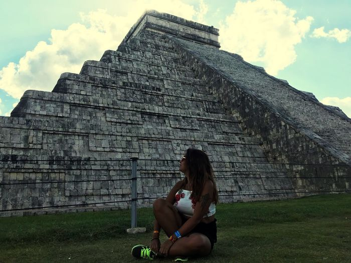 Chichen Itza 🇲🇽✈️ Chichen Itza Mexico Travel Photography Frenchgirl Latina Tattoo Mayan Ruins Yúcatan Monument