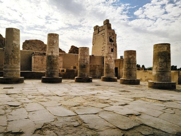 History Architecture Travel Destinations Cloud - Sky Outdoors Ancient Statues And Monuments Ancient Remains Nikon Photography Scuplture Ancient Egypt Tourism Photo Day City sky No People Travel Egyptphotography Nikon_photography_ Photoof