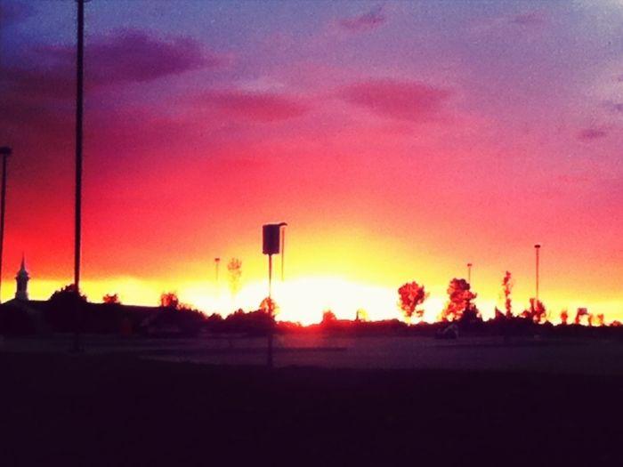The sunset last night<3