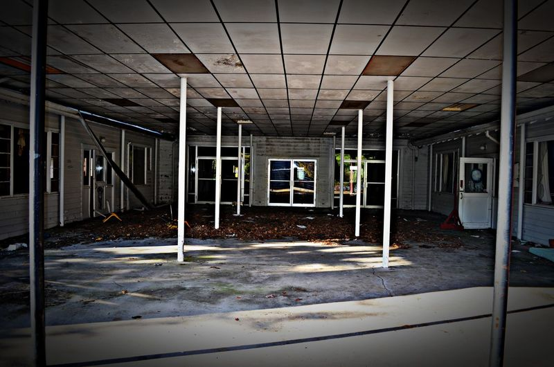 Abandoned Places Absence Architecture Built Structure Ceiling Diminishing Perspective Empty No People
