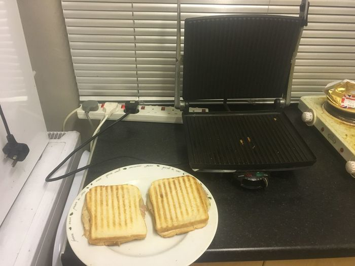 Two toasted