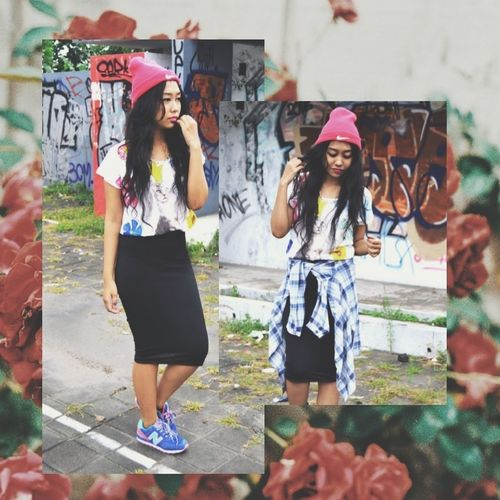 Street Fashion Girl Style Photography