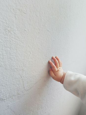Exploring Cropped Baby Hand Babyfingers Toddler  Touching Blue Wall Light Colors Pastel Colors White Clothes Splintered Textures And Surfaces From My Point Of View Summer 2016 Summer Scene Facades Full Frame Shot Architectural Detail At Home Exploring The World Learning Growing Up Discover  Crumbled Away EyeEm Best Shots