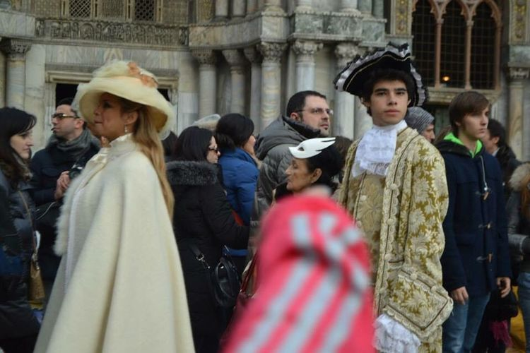 Carnaval Venice, Italy Venise Costumes Hello World Paradise Inconnu