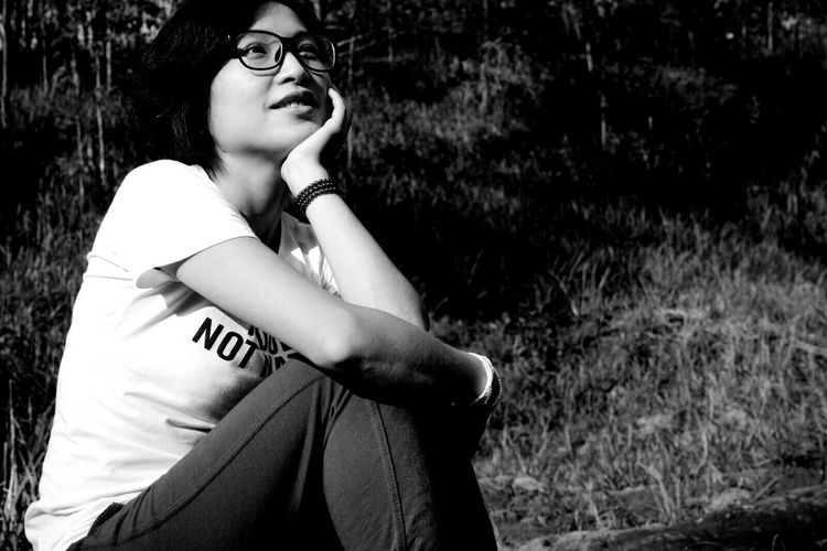Showcase: December Chinagirl Taking Photos Yogyakarta, Indonesia Indonesia_photography EyeEm Indonesia Black And White Photography