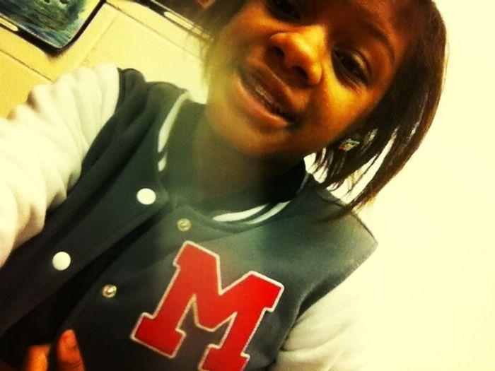 Me In Class Wearing My Friend Marianna Jacket #friendjacket