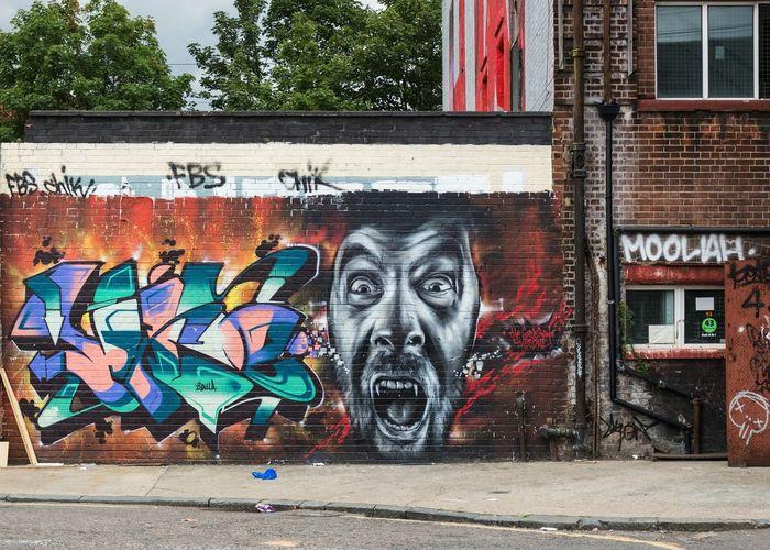 Hackney Graffiti Street Art Graffiti Art Urban London Hackney