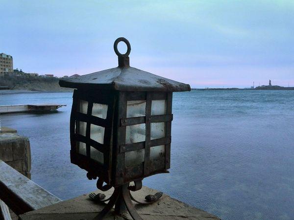 Sea Winter Blacksea Russia Черное море большойутриш Форт Маяк зима фонарь безмятежность HuaweiP9