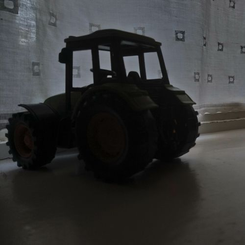 Toy Tire Industry Machinery Close-up Parking Land Vehicle Tractor Wheel Agricultural Machinery